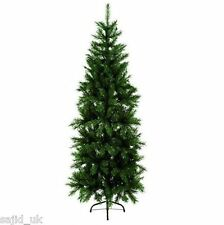 Premier Slim Pine Christmas Tree - 180cm/1.8m/6ft - FREE P&P