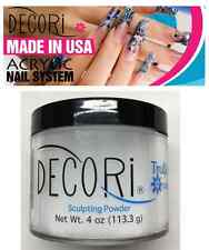 4 oz Professional Acrylic Adoro decori TRULY CLEAR Powder like mia secret