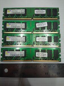 8GB (4x 2GB) PC2-5300U DDR2-667MHz Unbuffered CL5 240-Pin Dual Rank DIMM