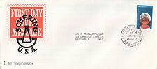 Stamp 1966 Dirk Hartog 4c commemorative issue on Schering Pharmaceuticals cachet