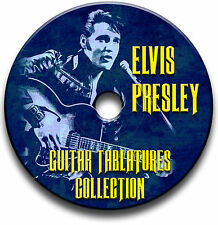 ELVIS PRESLEY ROCK N ROLL GUITAR TAB TABLATURE SONG BOOK SOFTWARE CD