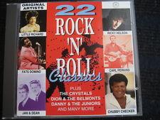 CD  22 Rock 'n' Roll Classics  Original Artists  Fats Domino Ricky Nelson Heinz