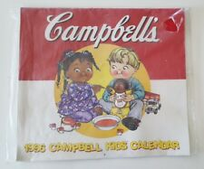 Campbell's Soup Kids Calendar Vintage 1996 New Art Collectible Campbell Postcard