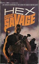DOC SAVAGE #37: HEX  by Kenneth Robeson - 1st Paperback Printing