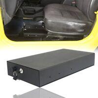 Fit for 1997-2006 Jeep Wrangler TJ Underseat Steel Lock Storage Box w/ keys