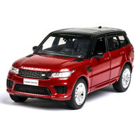 1:36 Land Rover Range Rover Sport SUV Off-road Model Car Diecast Toy Gift Red