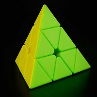 MoYu Magnetic Positioning Pyramid Speed Cube - Magic Cube  Puzzle - Stickerless
