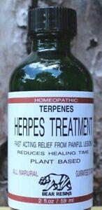 HERPES TREATMENT  TERPENES  Facial or Genital  Guaranteed Relief