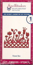 Spellbinders Shapeabilities Die D-Lites cut emboss stencil Flower Box 1pc