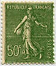 "FRANCE STAMP TIMBRE 198 "" SEMEUSE LIGNEE , 50 C OLIVE "" NEUF x TB"