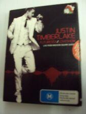 DVD - Justin Timberlake Futuresex/Loveshow - Region 4 - Rated M15+