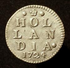 Niederlande, Provinz Holland, 2 Stüber (2 Stuiver) 1724