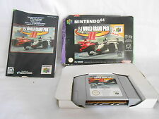 Jeu NINTENDO 64 F1 WORLD GRAND PRIX - Complet