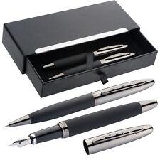 Mark Twain Metall-Schreibset mit Kugelschreiber und Füllfederhalter