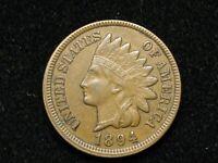 2021 SALE!! AU 1894 INDIAN HEAD CENT PENNY w/ DIAMONDS & FULL LIBERTY #201w