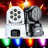 7x10W RGBW 4in1 LED Moving Head Light DMX DJ Club Disco Stage Party