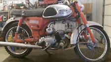 1965 Yamaha Y20 YG1 YJ1 Gas Tank Clean Inside Emblems  63 64 Trailmaster T4-2