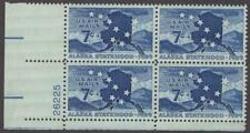 Scott # C 53 - Us Plate Block Of 4 - Alaska Statehood - Mnh - 1959