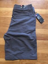 New Under Armour Mens Match Play Golf Shorts Sz 34 1253487-040 Gray Nwt
