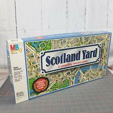 Scotland Yard Board Game 1985 Milton Bradley Europe's Award Winning