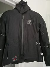 RUKKA SUKI LADIES MOTORCYCLE JACKET BLACK/SILVER EURO SIZE 44