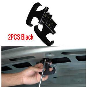 2Pcs Car Trunk Sundries Hook Trunk Bag Hook Hanger Holder Automatically Retract