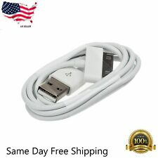 New! USB Sync Data Cable Charger Cord For Apple iPhone 4 4S 3GS 3G 30 Pin US