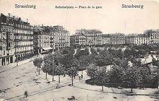 BR39622 france strassbourg strasburg place de la gare