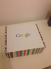 Google branded digital photo frame (corporate gift from 2008) unused and boxed