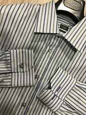 "Paul Smith ""LONDON COLLECTION"" Stripe Classic Fit 15"" Eu38 RRP £150"