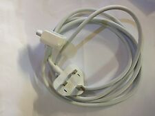 Genuine Apple Macbook ProAir 11,13,15,17 MagSafe UK Charger Extension Cable Slim