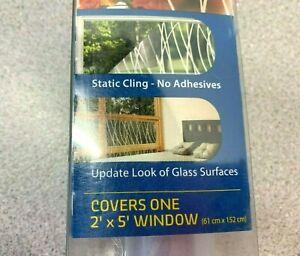 Gila Glass Scenes Decorative Window Film 24 Hour Privacy 2' X 5' Meadow 50181248
