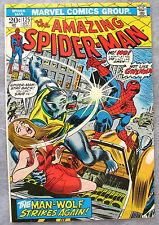 Amazing Spider-Man #125 Man-Wolf Origin KEY John Romita Cover VERY NICE BIG PICS