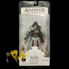 "ASSASSINS CREED Brotherhood IVORY EZIO 7"" Action Figure NECA Toys!"