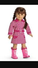 My American Girl Doll Truly Me Rainy Day Pink Rain Coat
