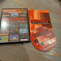 Namco Museum 50th Anniversary (PS2) CIB Complete Dig Dug Pacman Pole Position