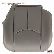 2003 2004 2005 2006 Cadillac Escalade ESV EXT Driver Bottom Gray Leather Cover