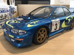 Tamiya Impreza WRC 58210 Vintage 1/10 RC With Box