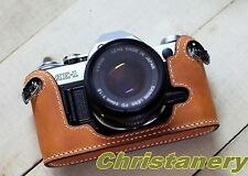 NEW Handmade Real Genuine Leather Case Cover Bag For Canon AE-1 AE-1P A-1 Camera