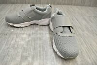 Propet Stability X Strap MAA013M Athletic Shoes, Men's Size 10.5 X(3E) - Gray