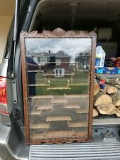 Vintage Chinese Rose Wood Display Curio Cabinet