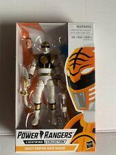 "White Ranger Mighty Morphin Power Rangers Lightning Collection 6"" Figure 2019"