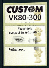 Post & Go: 1st class TEST LABELS - year code MA14 - FULL PHOSPHOR BAND
