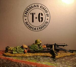 THOMAS GUNN**WW1 GERMAN PRONE MACHINE GUNNER**GW050B**MINT IN BOX