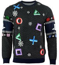 Officiel Sony Playstation symboles Gaming Tricot Noël Pull Ugly Sweater