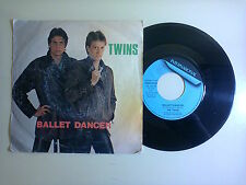 "The Twins ‎/ Ballet Dancer - Disco Vinile 45 Giri 7"" Stampa Italia 1983"