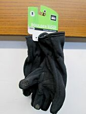 REI Boulder Ridge Black Tech compatible MidWeight Fleece gloves grip sz S Kids-8