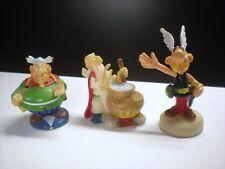 Lot de 3 figurines JELLY BEANS Astérix 1995