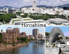 Japan - HIROSHIMA - Travel Souvenir Fridge Magnet
