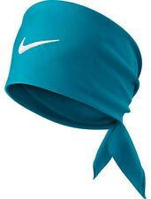 New Nike Tennis Swoosh Bandana Neo Turq / White Federer Rafa Nadal 411317-422